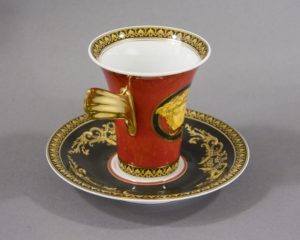 Rosenthal Versace - Medusa - Coffee Cup and Saucer