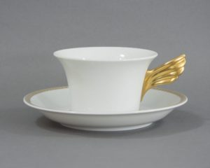 Rosenthal Versace - Medaillon Meandre d'Or - Tea Cup and Saucer