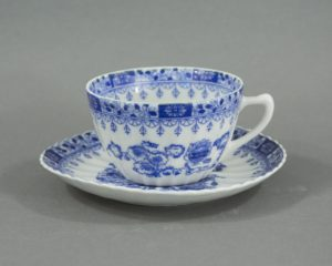 A Vintage Japanese Tea Cup and Saucer