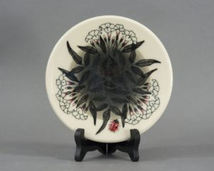 A Dennis Chinaworks Ladybird Plate.