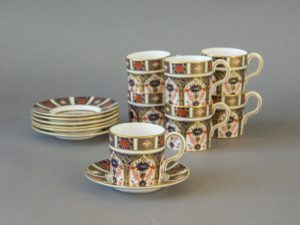 Royal Crown Derby - Old Imari - Tea Cup and Saucer