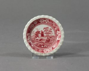 spode's tower butter pad