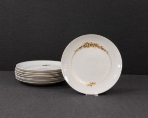 Romance Gold lunch plate