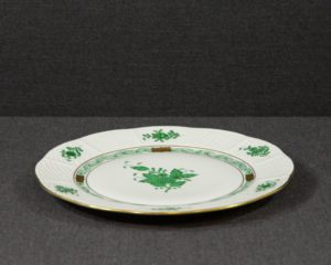 A Herend Apponyi Lunch Plate.