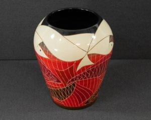 A Dennis Chinaworks Limited Edition Vase.