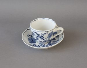 Blue Danube - Zwiebelmuster - Coffee Cup and Saucer