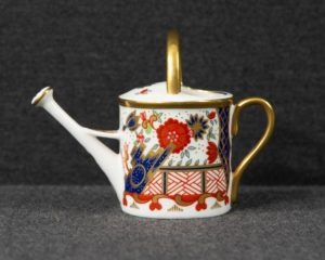 A Royal Crown Derby Miniature Watering Can.