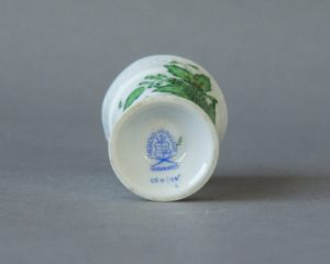 Herend Hungary - Apponyi / Chinese Bouquet Green - Miniature vase