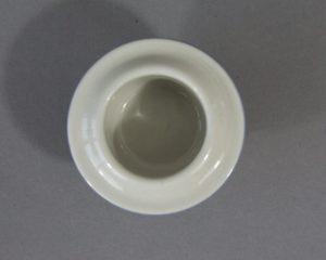 A vintage egg cup made by Arabia Finland belonging to the series Uhtua.