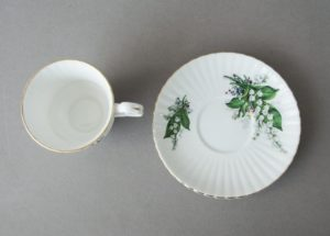 Royal Windsor - Teacup and saucer - 'Lily of the Valley'