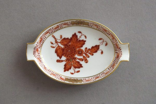 Herend Hungary - Apponyi / Chinese Bouquet Red - Ashtray