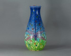 Sally Tuffin for Dennis Chinaworks - Limited Edition Lidded Vase
