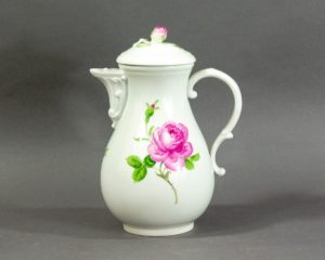 Meissen - Rote Rose - Coffee Pot