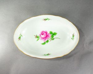 Meissen - Rote Rose - Serving Dish