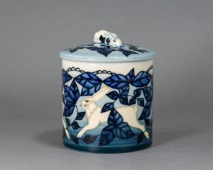Sally Tuffin for Dennis Chinaworks - Lidded Jar
