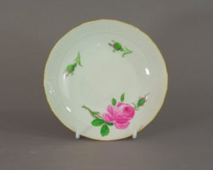 Meissen - Rote Rose - Antique Small Serving Dish