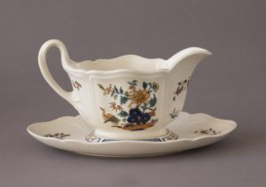 Wedgwood - Chinese Teal - Sauce Boat