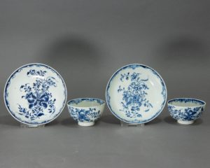 Caughley - Early (1775-99) English Porcelain Tea Cups