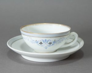 Late 19th century Coffee Cup and Saucer