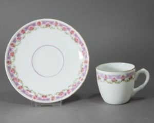 Early 20th Century Coffee Cup and Saucer