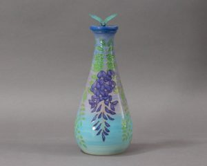 Sally Tuffin for Dennis Chinaworks - Wisteria Flask