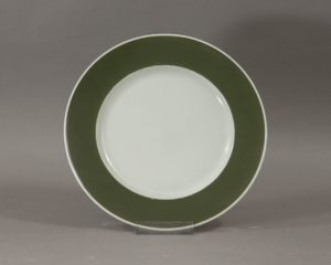 Rosenthal olive lunch plate