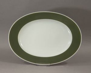 A Rosenthal Studio-Linie 'Composition Olive' serving bowl designed by Tapio Wirkkala.