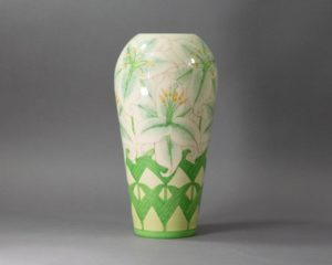 A Dennis Chinaworks Lilies Vase.