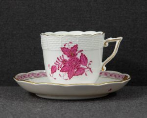 Herend Purple Large coffee cup