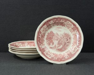 Burgenland Red soup plate