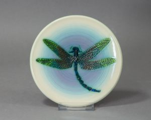 A Dennis Chinaworks Dragonfly Plate.