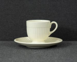 A Wedgwood 'Edme' Demitasse Cup and Saucer.