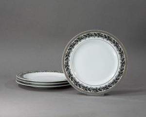 versace marqueterie lunch plate