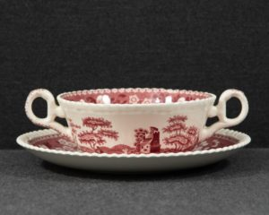 Spode's Tower soup cup
