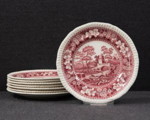 Spode's Tower cake plate