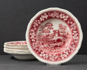Spode's Tower Soup plate