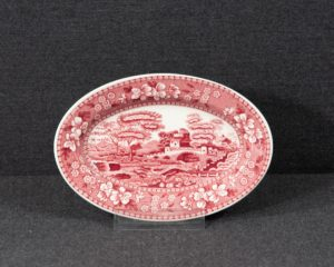 Spode's Tower oval dish