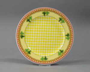A Rosenthal Versace Ivy Leaves Lunch Plate.
