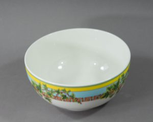 A Rosenthal Versace Ivy Leaves Serving Bowl.