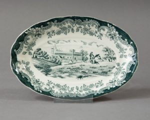 A Royal Worcester Avon Scenes Serving Dish.