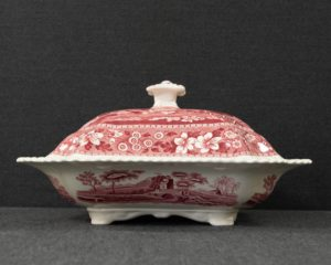 Spode's Tower medium footed