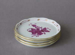 Herend Hungary - Chinese Bouquet - Butter Pat/Miniature Plate