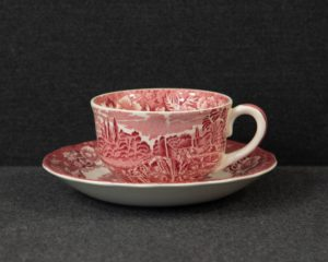 Palissy Pottery  teacup