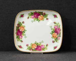 Old Country Roses small serving dish