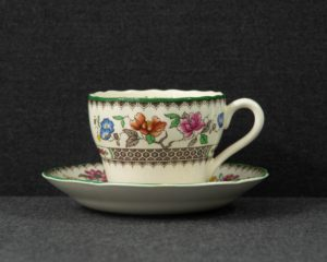 spode chinese rose teacup