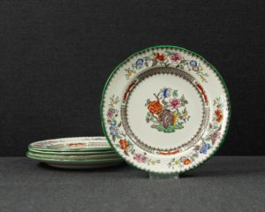 spode chinese rose plate