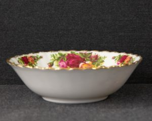 Old country roses cereal bowl