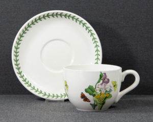 A Portmeirion The Botanic Garden 'Orchid' Extra Large Breakfast Cup.