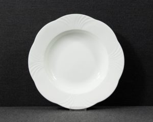 arco weiss soup plate
