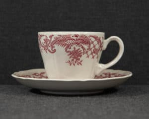 Valeria red coffee cup
